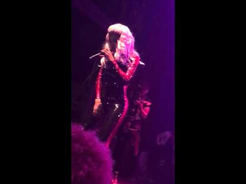 Teyana Taylor Request/ Aaliyah One In Million cover Live VII Unplugged Tour