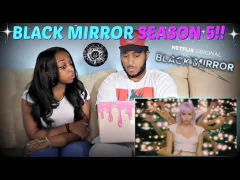 Black Mirror: Season 5 Official Trailer REACTION!!
