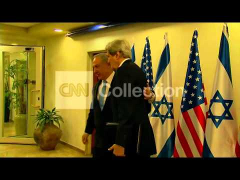 ISRAEL: KERRY MEETS NETANYAHU FOR PEACE TALKS