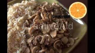 تحضير فطر شهي على الطريقة التركية