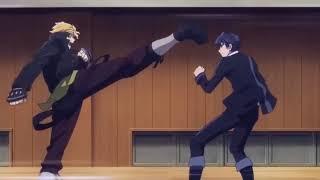 Black Bullet - Rentaro y Tina VS Hermanos Katagiri