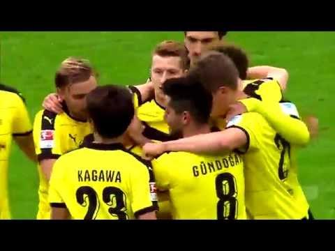 İlkay Gündoğan vs Augsburg (H) 25/10/2015 720p HD