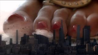 Giga Giantess Feet Over LA