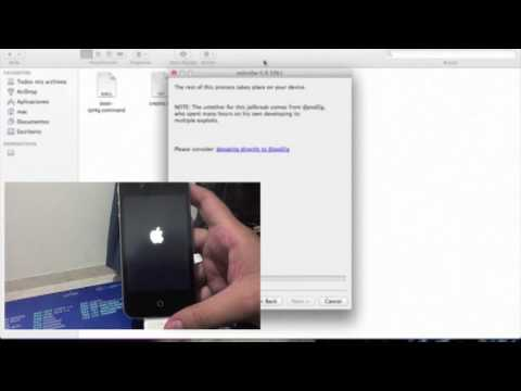 Tutorial Jailbreak untethered IOS 5.0.1 para iPhone 4/3GS iPod touch 3G /4G y ipad 1