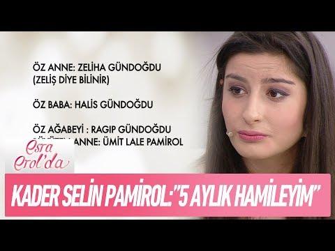 """Kader Selin Pamirol: """"5 aylık hamileyim!"""" - Esra Erol'da 27 Aralık 2017"""