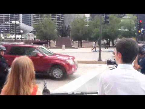 Exclusive Video Pictures Of Dhoom 3 On Location In Chicago