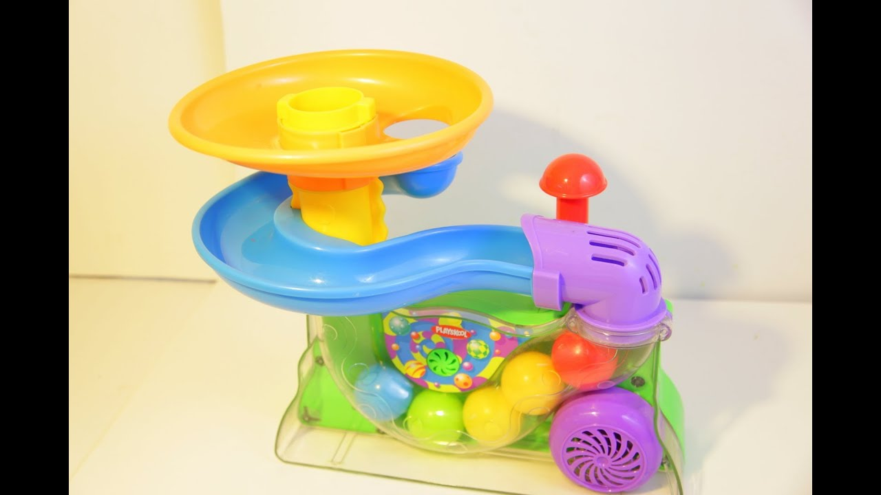 Playskool Busy Ball Popper Review - YouTube