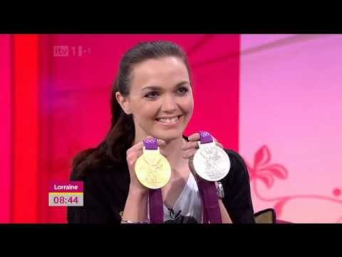 Victoria Pendleton Interview - Lorraine 21-08-2012