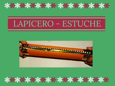 LAPICERO - ESTUCHE CON ROLLO DE PAPEL
