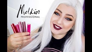 Noile rujuri mate Melkior: Review & Swatches Matte Stain