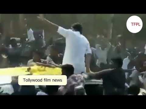 #జనసేనపోరాటయాత్ర ||పవన్ కళ్యణ్ వెంట యివతను  చూస్తే షాకె || Tollywood film news
