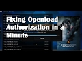 Openload stream authorization openload pair  Kodi - Fix in a minute