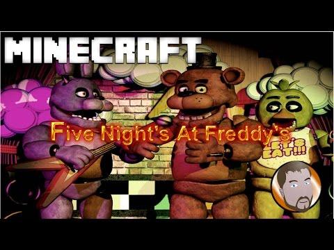 Five Night's At Freddy's | Minecraft 1.8(I...