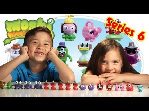 MOSHI MONSTERS Series 6 Opening - ULTRA RARES and GOLD!