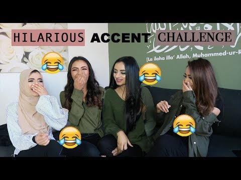 HILARIOUS ACCENT CHALLENGE!! *sister edition* | sister tag | Indian, African, Jamaican, Chinese etc thumbnail