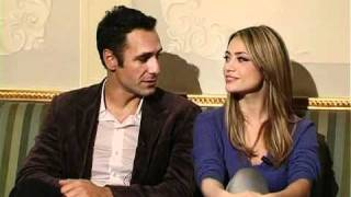 Raul Bova e Martina Stella - Intervista esclusiva su MSN.it