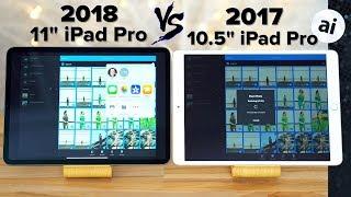 "11"" iPad Pro vs 10.5"" iPad Pro Performance Comparison!"