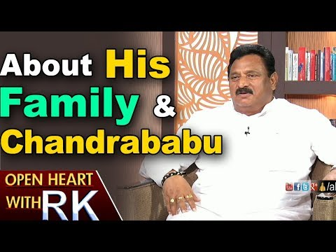 AP Deputy CM Nimmakayala Chinna Rajappa About His Family & Chandrababu Naidu | Open Heart with RK