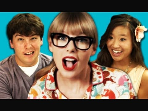Teens React to Taylor Swift - We Are Never Ever Getting Back Together Music Videos