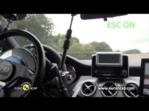 Euro NCAP | Mercedes-Benz CLA-Class | 2013 | Электронный контроль устойчивости