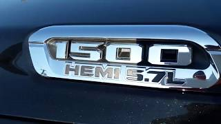 2019 Ram 1500 Limited  Start up engine and full review