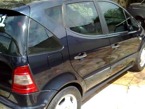 mercedes benz classe a 190 elegance mini van gasolina 1 9 8 v autom tico 4 portas 2001 youtube. Black Bedroom Furniture Sets. Home Design Ideas