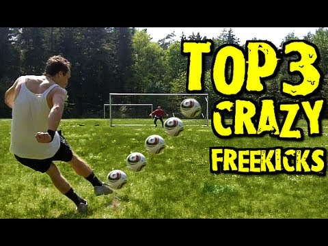 Crazy Knuckle Ball | Top 3 Free Kick | Best Free Kicks Montage Vol.4 | freekickerz
