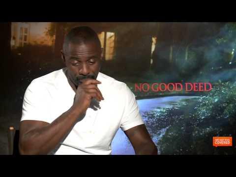 No Good Deed Interview With Idris Elba and Taraji P. Henson [HD]