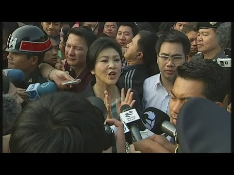 Thailand split as election votes cast