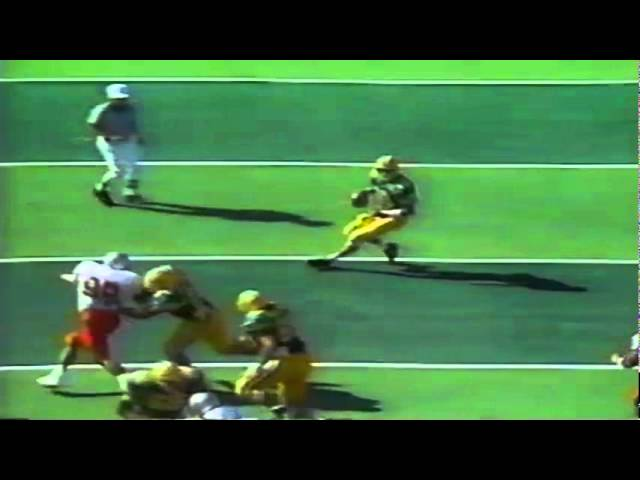 Oregon TE Willie Tate touchdown catch vs. UNLV 9-26-1992
