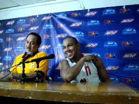 Junel Baculi & Willie Miller post-Barako-TNT interview