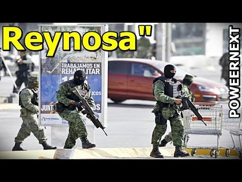 Balacera en Vivo Militares y Federales vs Los Cartel del Golfo en Reynosa, Tamaulipas