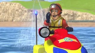 Sam's Jetski Adventure! | Fireman Sam US 🌟Firefighters Water Rescues 🚒 Videos for Kids