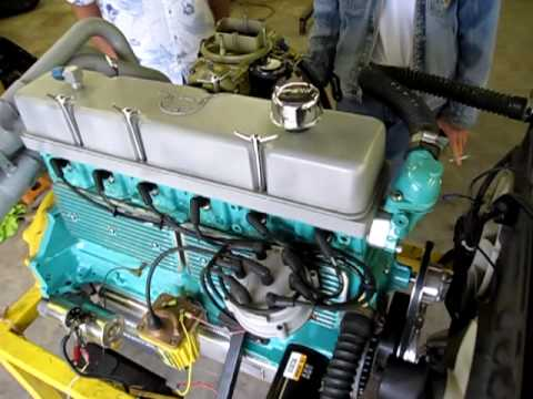 hot rod 292 six cylinder youtube