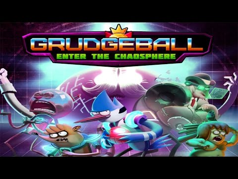 Grudgeball: Enter The Chaosphere – Regular Show's Extreme Sport Of The Future (ios) video