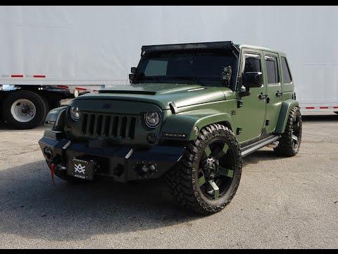 Avorza Jeep Wrangler Brutal Baf Edition Stunning Product