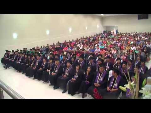 Graduación en la Facultad de Agronomia de Delicias