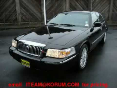 Preowned 2008 Mercury Grand Marquis Puyallup WA