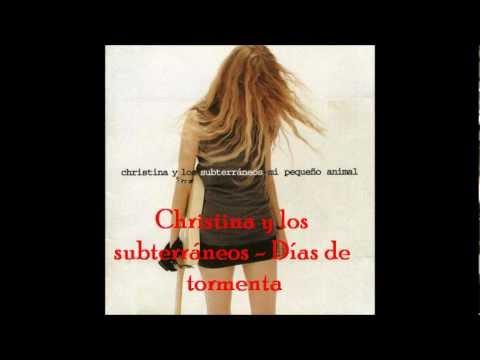 Christina y Los Subterráneos - La Lluvia Cae Despacio