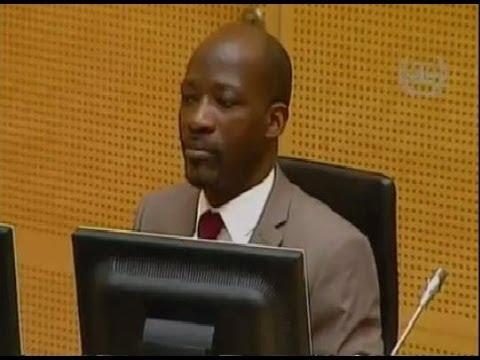 CPI : Blé Goudé lors de la conférence de mise en état