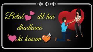 download lagu Phir Milenge Sanam  Betab Dil Hai  Whatsapp gratis