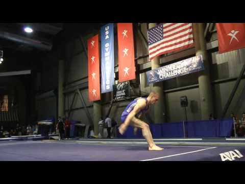 Steven Legendre - Floor Exercise - 2012 Winter Cup Finals