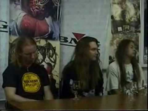 Death Chuck Schuldiner Interview Chile [06.11.1998] Part 2