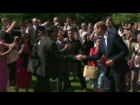 Prince William 'thrilled' with news of second baby