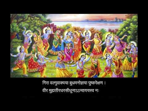 Gopi Geet by Shri Rajendra Das Ji Maharaj (with lyrics)