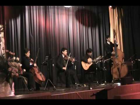 COMO NO CREER EN DIOS cover interpretan: Emilia Zamora, Franz Valdivia, Mario Zedog, Javier Flores