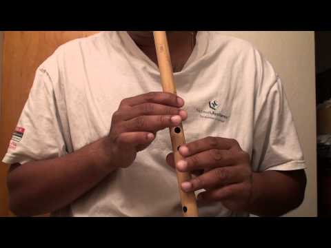 Hindi song on flute - Aa Laut Ke Aaja Mere Meet - Travails with...
