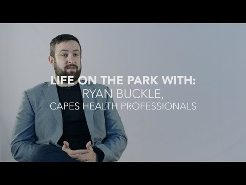 Life on the Park: Ryan & Alice from Capes Health Professionals based at Plymouth Science Park