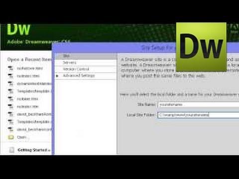 Websites Created With Dreamweaver Adobe Dreamweaver / Creating