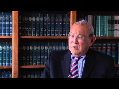 "Judge Wallace Tashima Interview #9 ""I could never get a job offer from a private law firm"""
